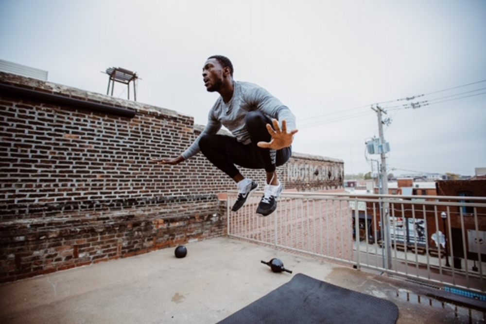 Tuck Jump   //   Photo by:    Joe Combs