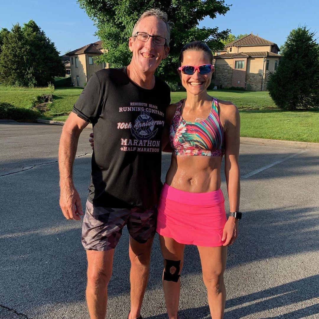 Jeff with training partner Amy Robbins - Springfield, MO