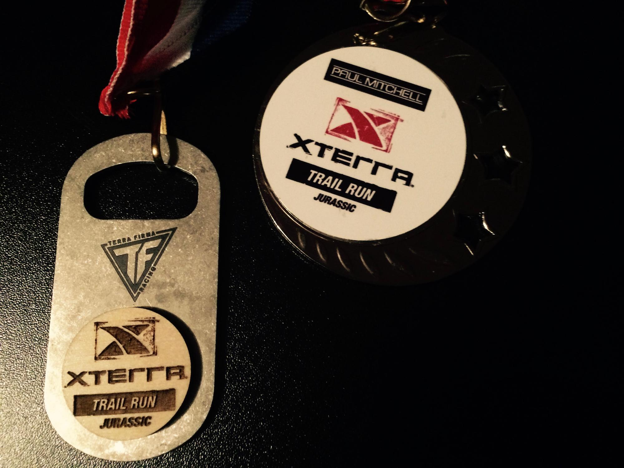 Xterra medals