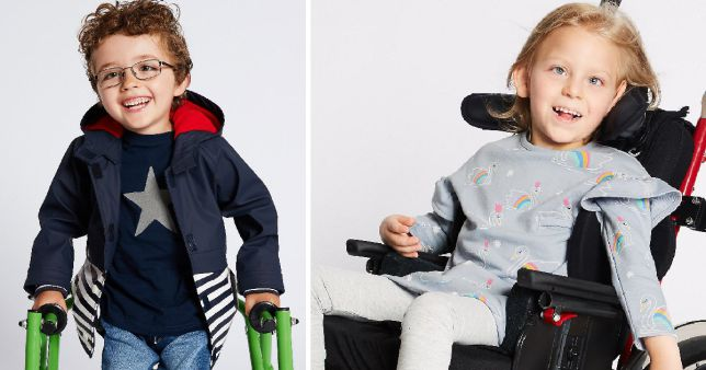 Marks & Spencer achieves a British high street first by introducing a new line of clothing catered to disabled children.