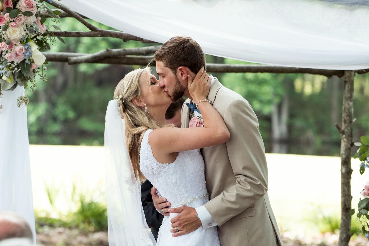 Wedding Photos from Tripp Farms in Greenville, North Carolina