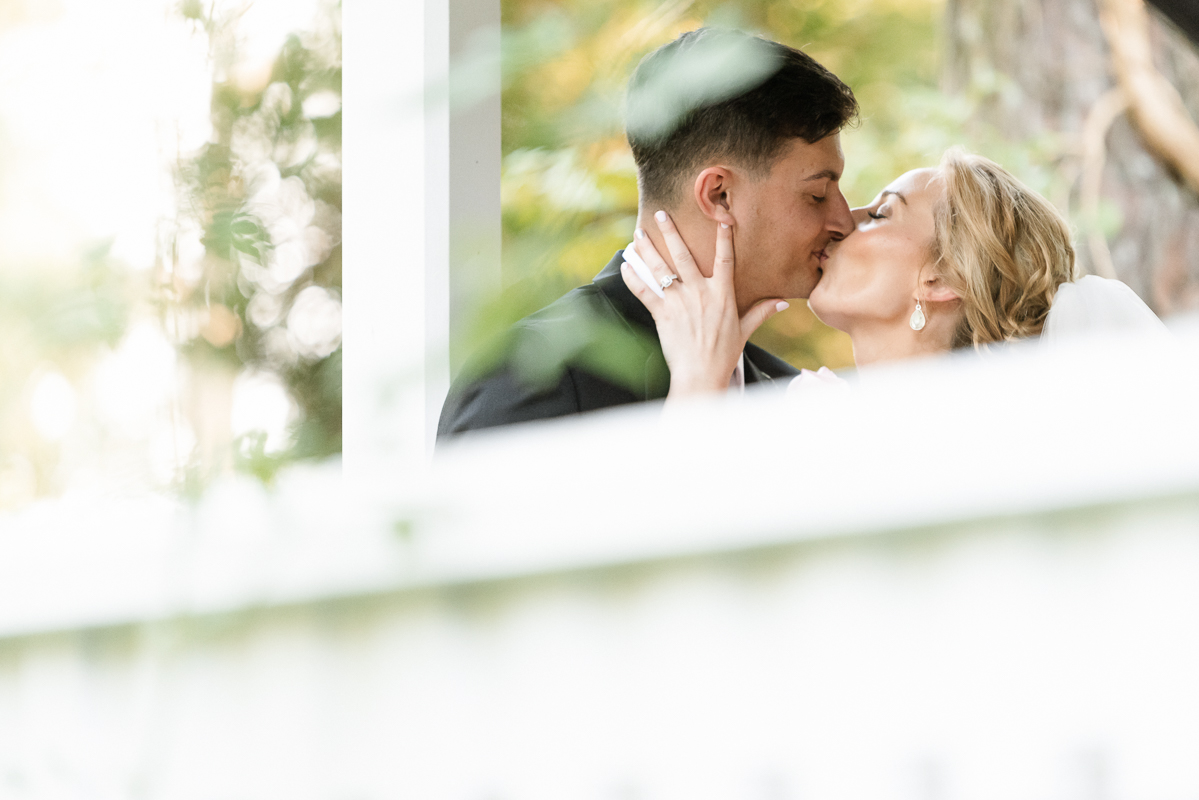 The Wedding Venue Cape Fear Botanical Garden photographed by wedding photographer from fayetteville, nc