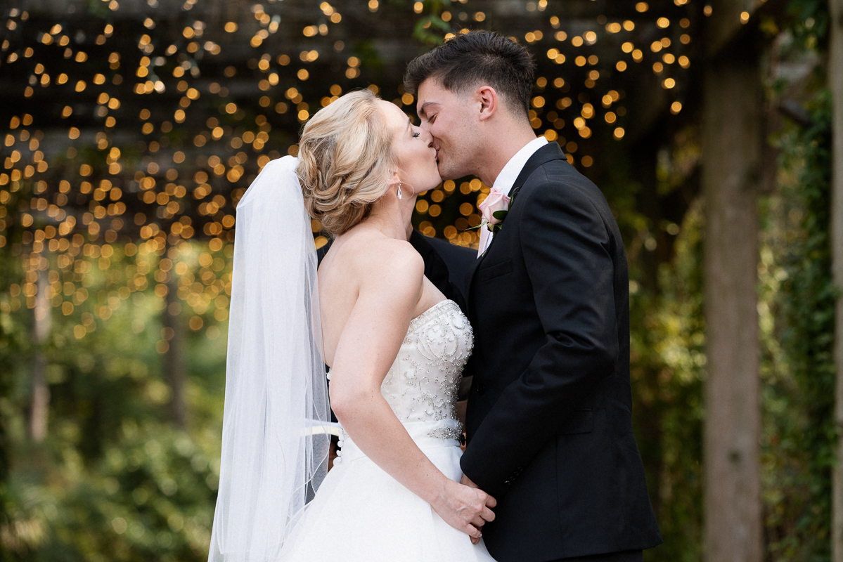 Cape Fear Botanical Garden Wedding photographed by Fayetteville Wedding Photographer
