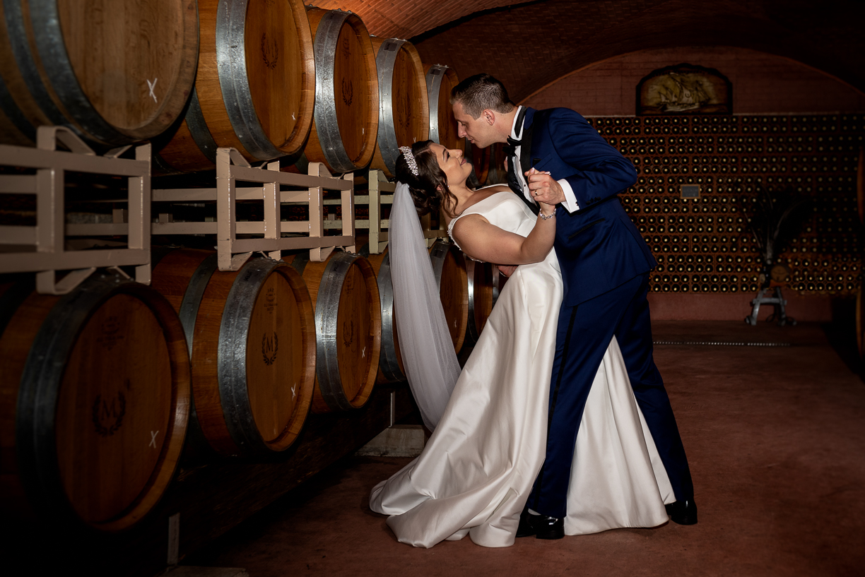 Wedding at Morais Vineyards.