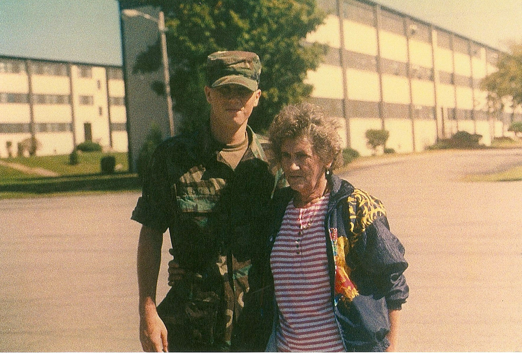 Right after graduating Basic training at Fort Knox, KY.