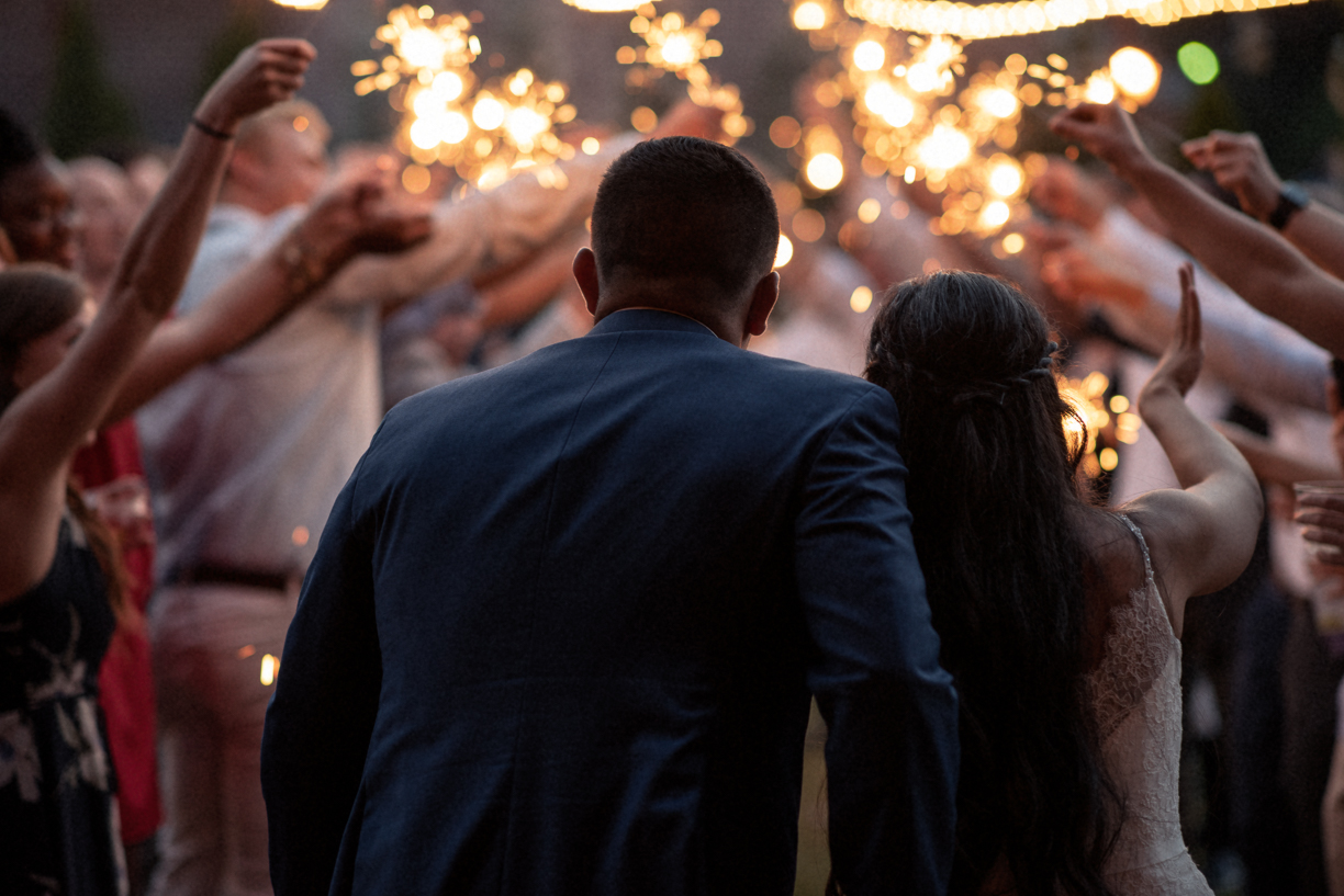 Getting ready for that sparkler exit
