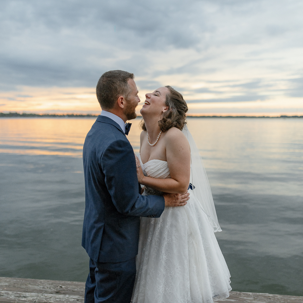 Sunet wedding photo
