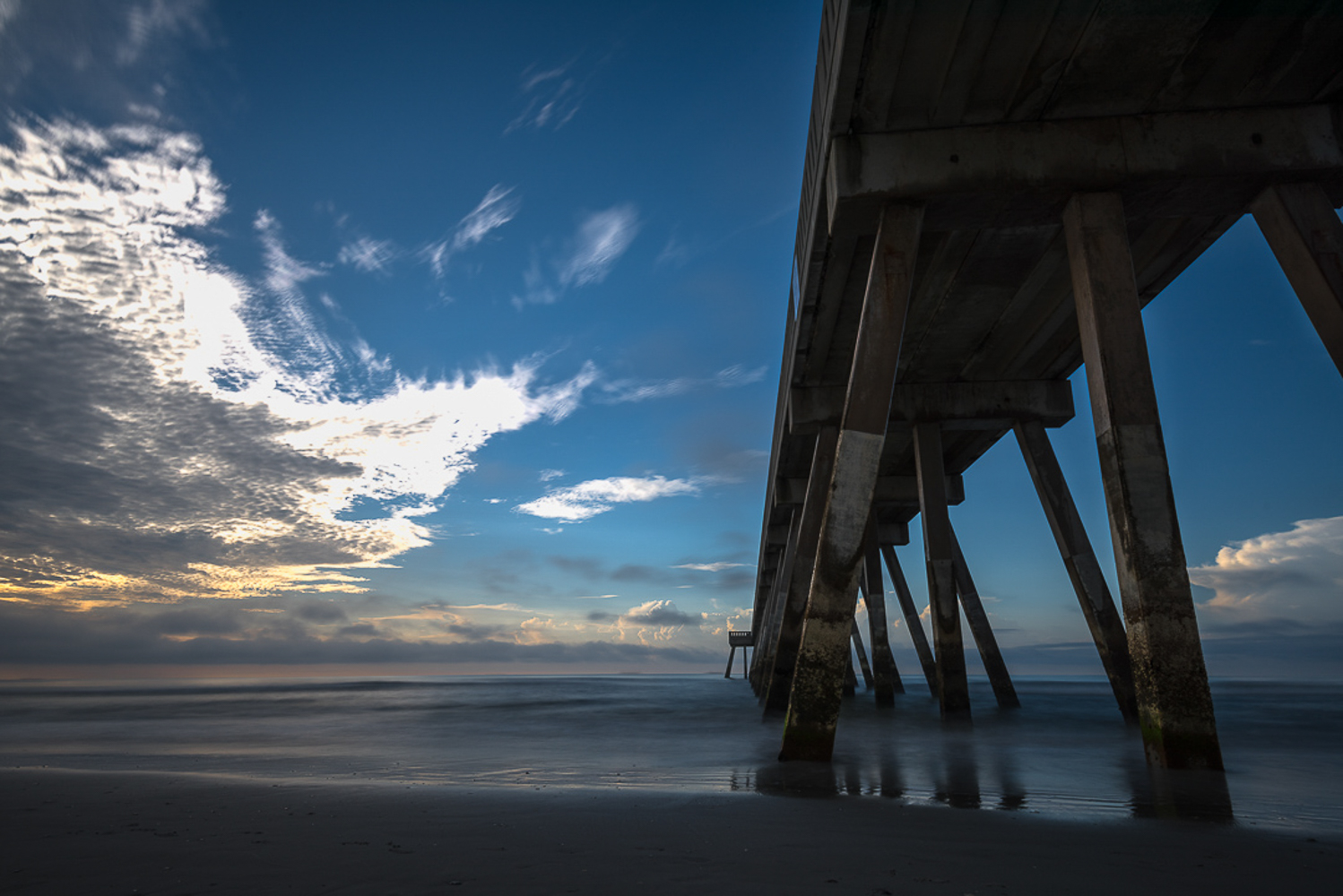 Landscape photographs from sunrises and sunsets in North Carolin