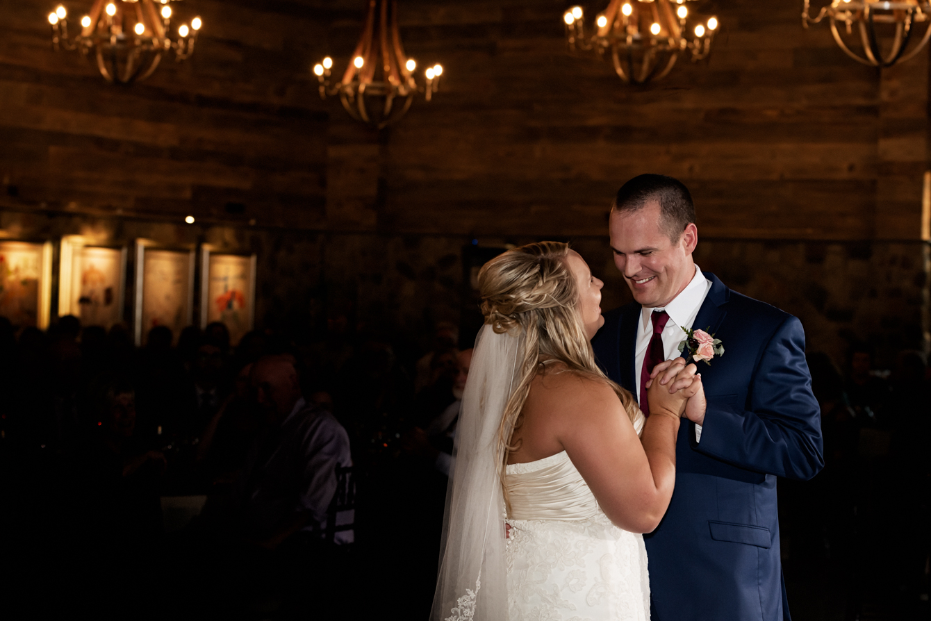 First Dance at Cape Fear Vineyard and Winery.