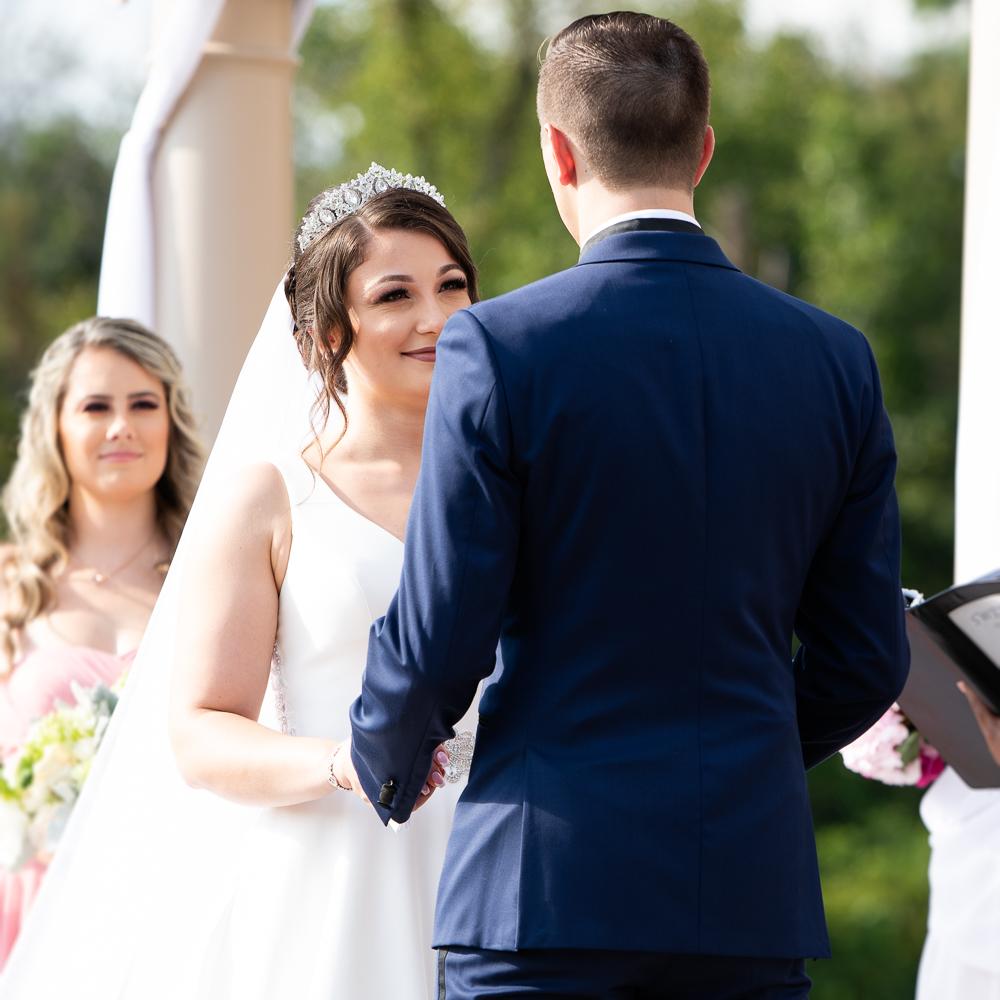 Wedding at Morais Vineyards.