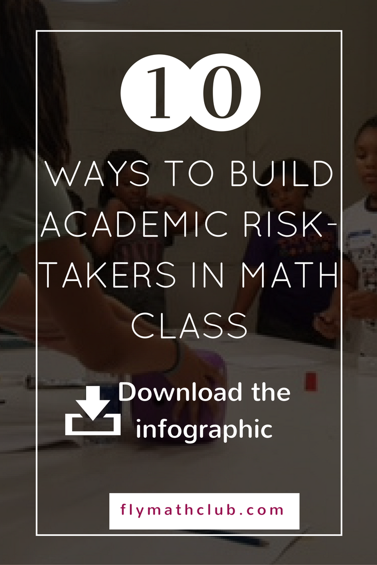 10 ways to build academic risk-takers