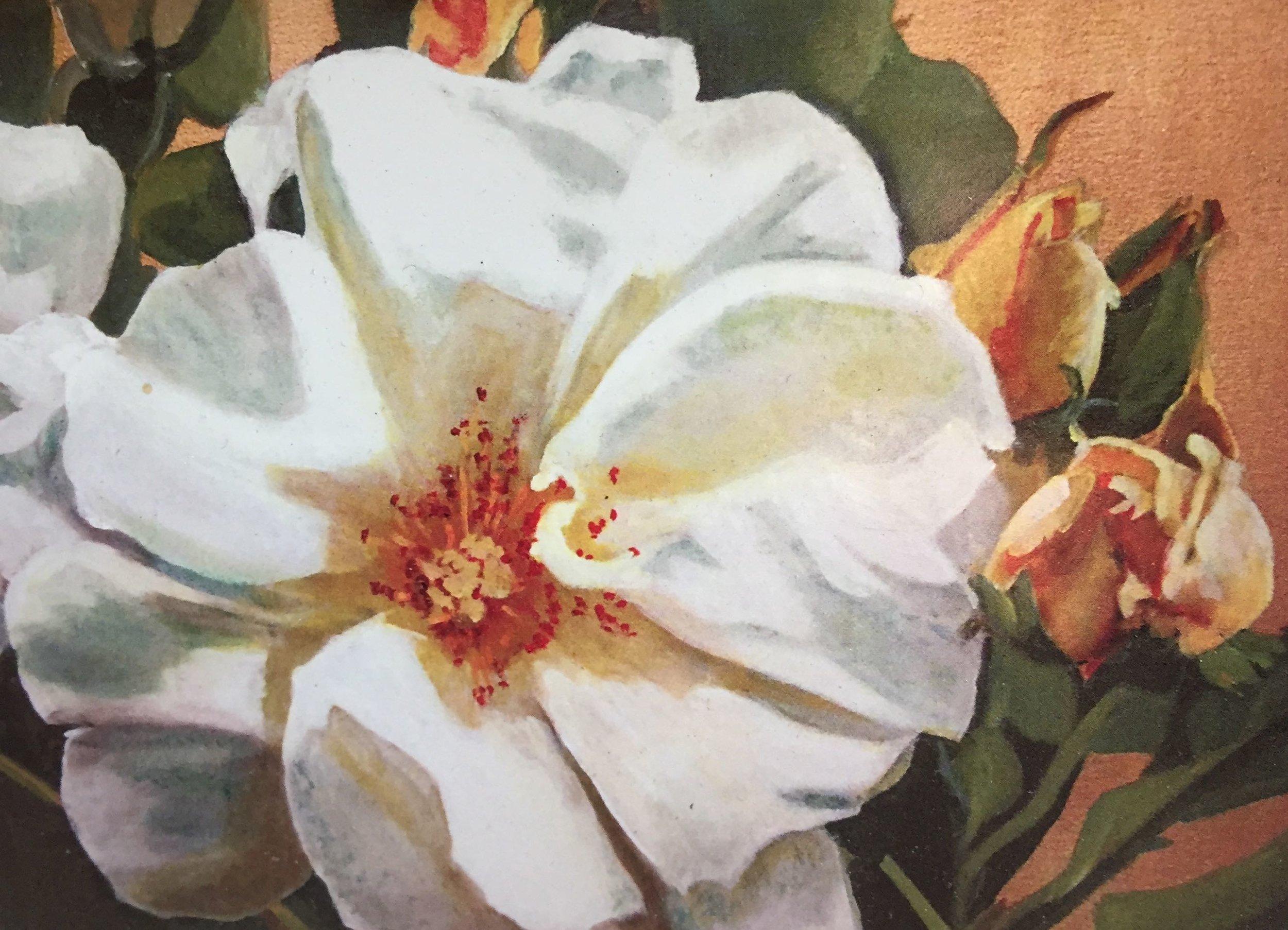 "Rosa ""Golden Wings""  1998"