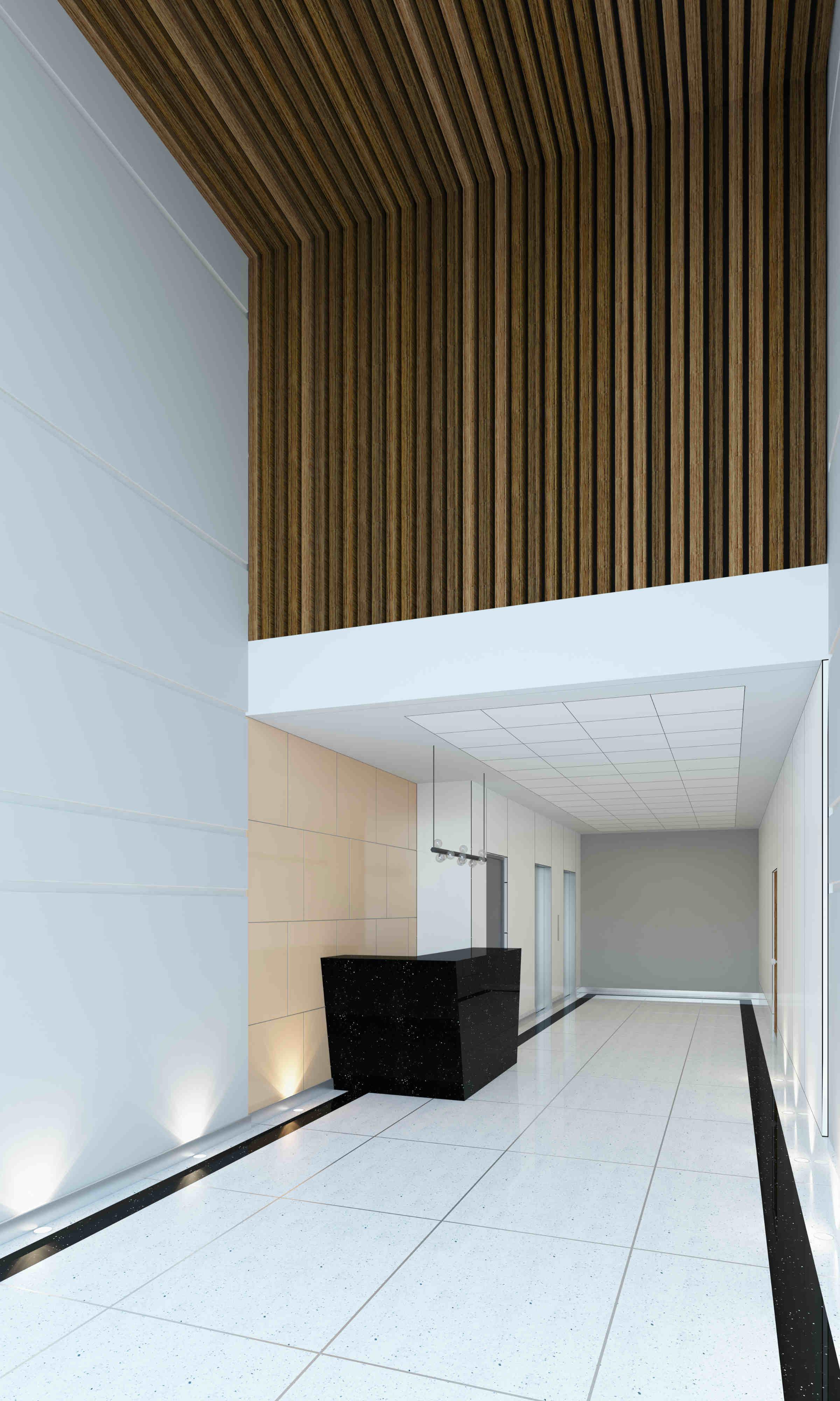 equipamiento de edificio de oficinas en alquiler miraflores