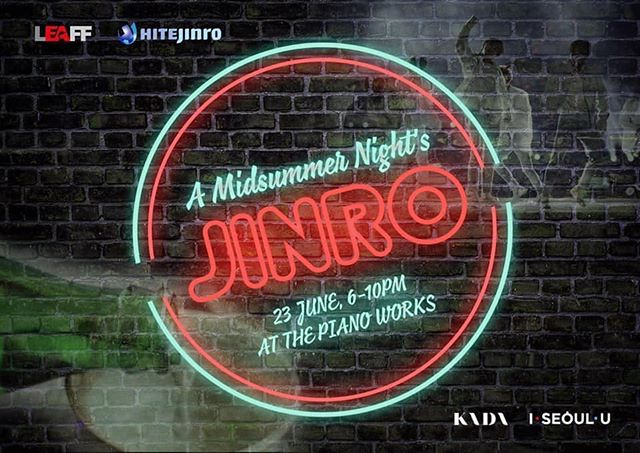 WIN a pair of tickets to a MIDSUMMER NIGHT'S JINRO. A night of K-pop & an unlimited Soju bar! 🎁🎉🎉 - How to Enter: - • Comment below this post what your favourite Kpop song is for summer 🎶☀️ • Follow @beatcraze and @leafilmfest on Instagram - 2 winners will be chosen and contacted.  Competition ends on Friday 12pm GMT Ts&Cs apply  #kpop #KpopParty #kpopgiveaway