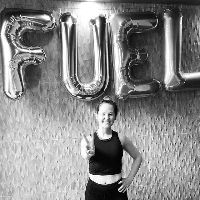 Happy Birthday Fuel!!! 🎉 Here's to 2 years of making new friends and gettin' sweaty together 💪🏽 . . #thisfuelsme #sweatpurposepassion #fuelyogaworkouts