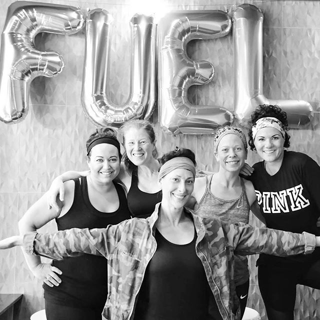 Still feelin' the buzz from last week's Birthday Celebration - thanks to everyone who came to party with us! #sweatybirthday #sweatpurposepassion #thisfuelsme #fuelyogaworkouts