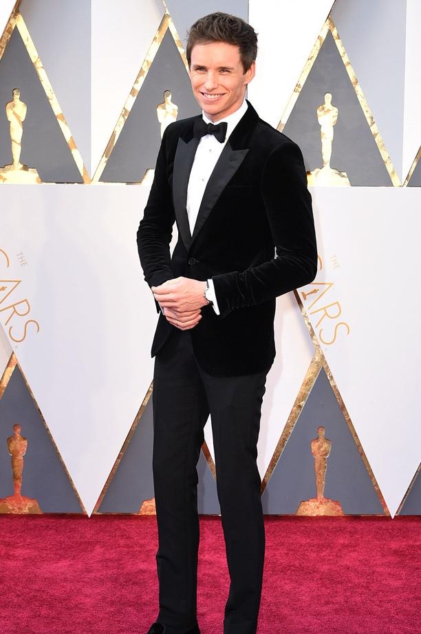 Eddie Redmayne attends the 88th Academy Awards, 2016 © Steve Granitz/WireImag