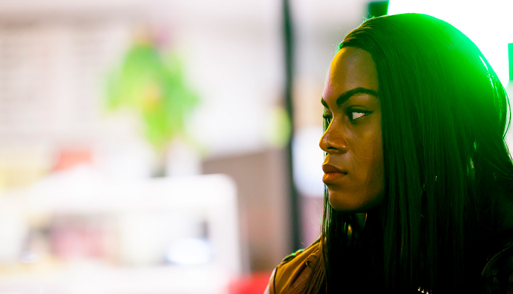 Mya Taylor in  Tangerine  © 2015 Magnolia Pictures