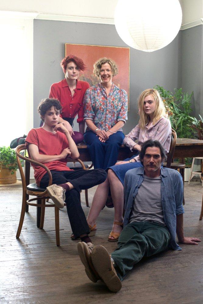 Lucas Jade Zumann, Greta Gerwig, Annette Benning, Elle Fanning, and Billy Crudup in  20th Century Women  © 2016 A24