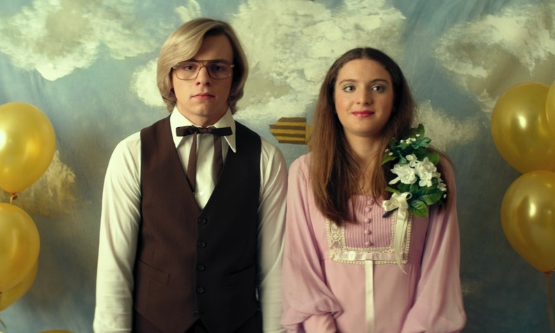 Ross Lynch and Sydney Meyer in  My Friend Dahmer  © 2017 FilmRise