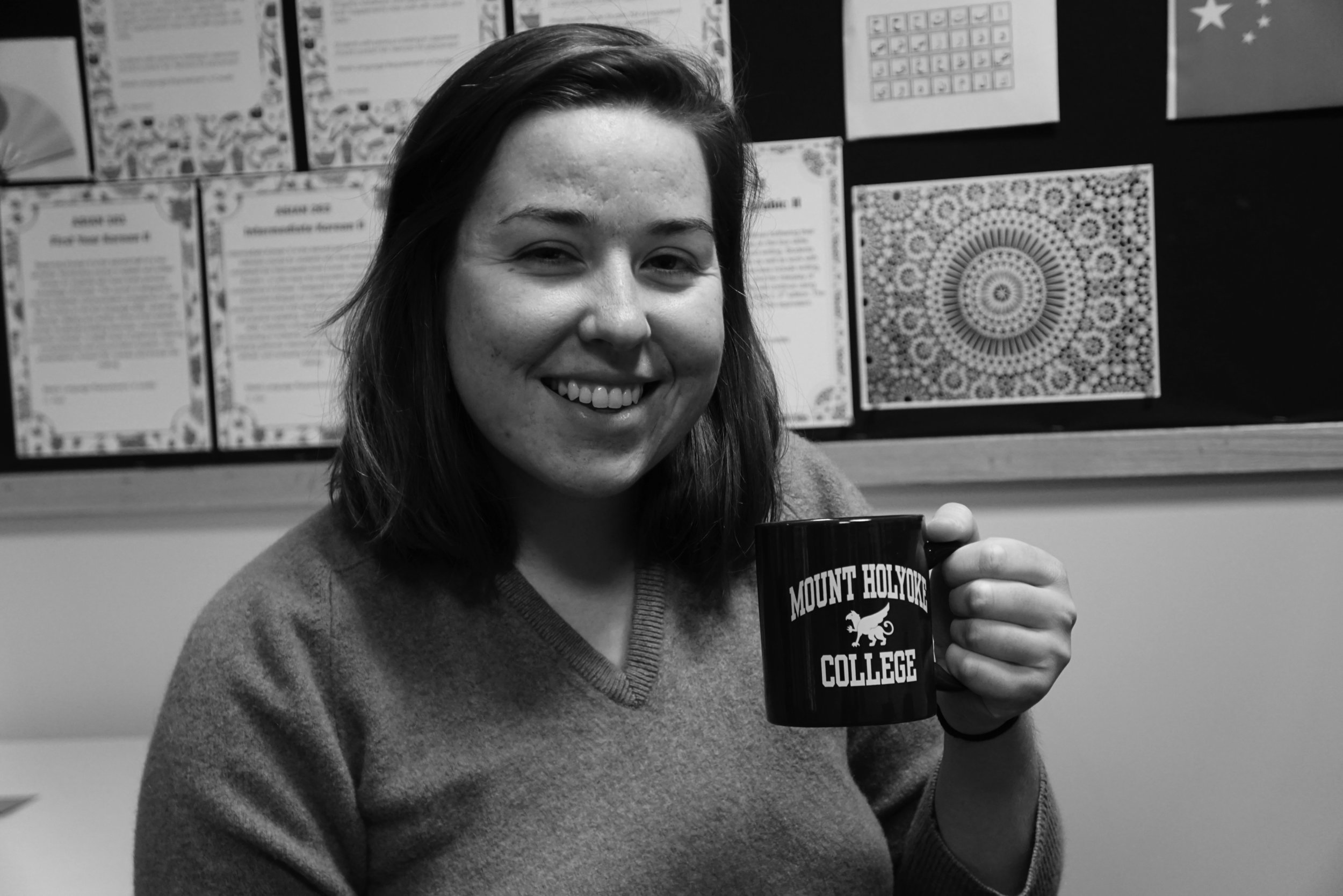Photo by Kathy Hu '19 Azulina Green '17 is running a petition on Change.org to create a coffee cooperative called Mo'Coffee.