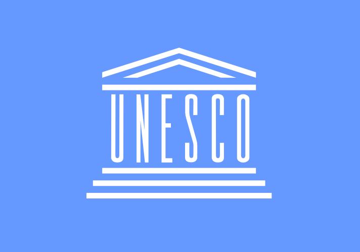Flag of UNESCO Courtesy of Wikicommons