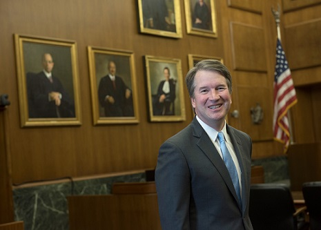 Photo courtesy of Wikimedia Commons  President Trump nominated Brett Kavanaugh (pictured above) to the Supreme Court of the United States.