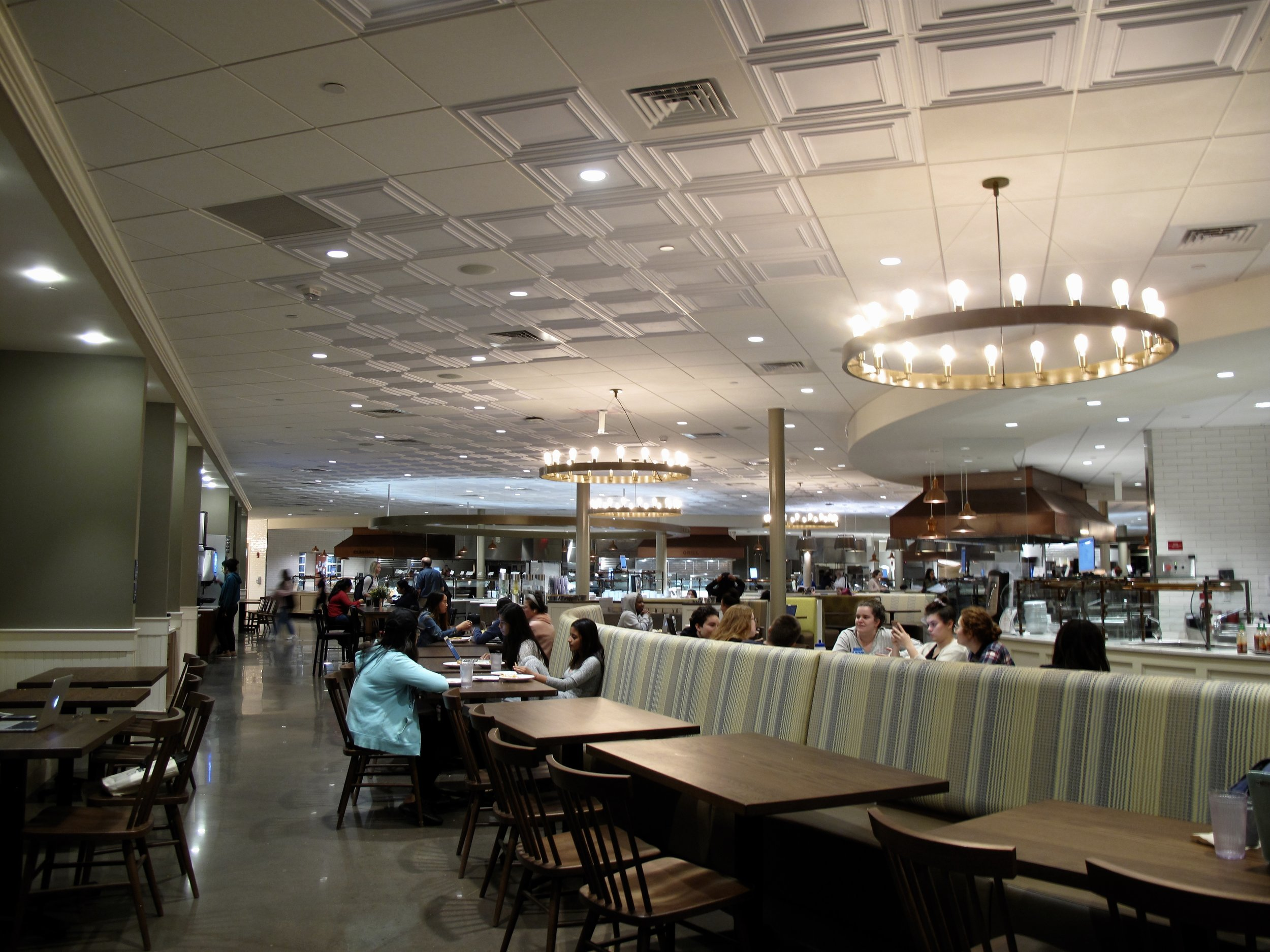 Photo by Flannery Langton '22   Dining services will be offering a new meal plan option for juniors and seniors. The deadline to enroll is Oct. 1.