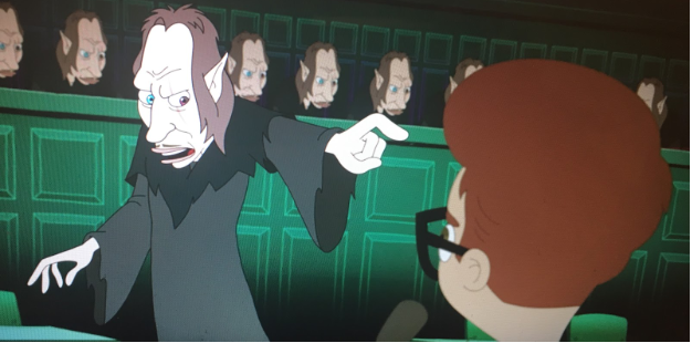 Photo courtesy of Flickr  The Shame Wizard (Thewlis) in Big Mouth season two