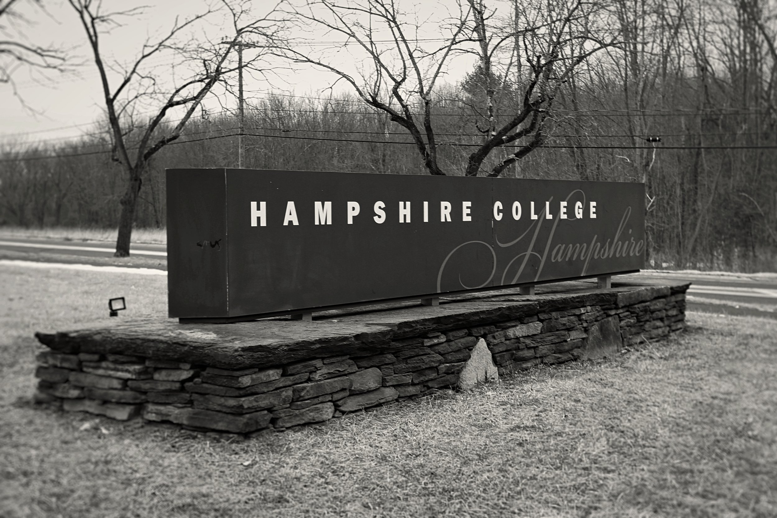 Photo by Grace Mercer '22  Hampshire College community members have responded to recent news of financial trouble with a call for greater transparency as the College seeks a long-term financial partner.
