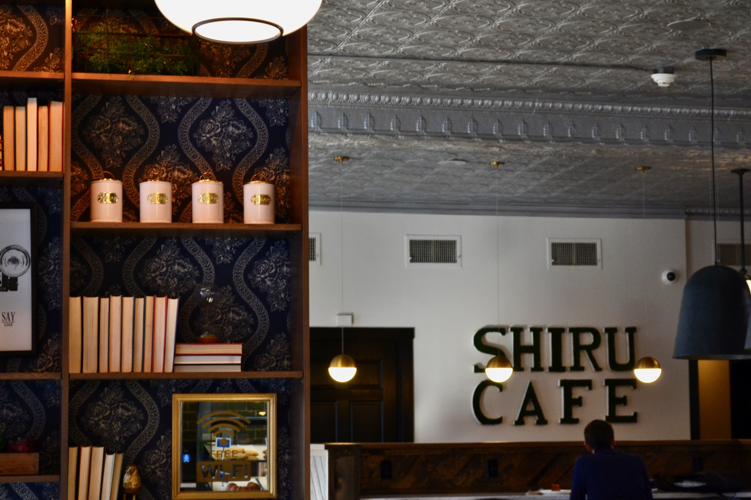 Photo by Flannery Langton '22  Shiru Cafe is now open to professors and students in Amherst, Massachusetts.