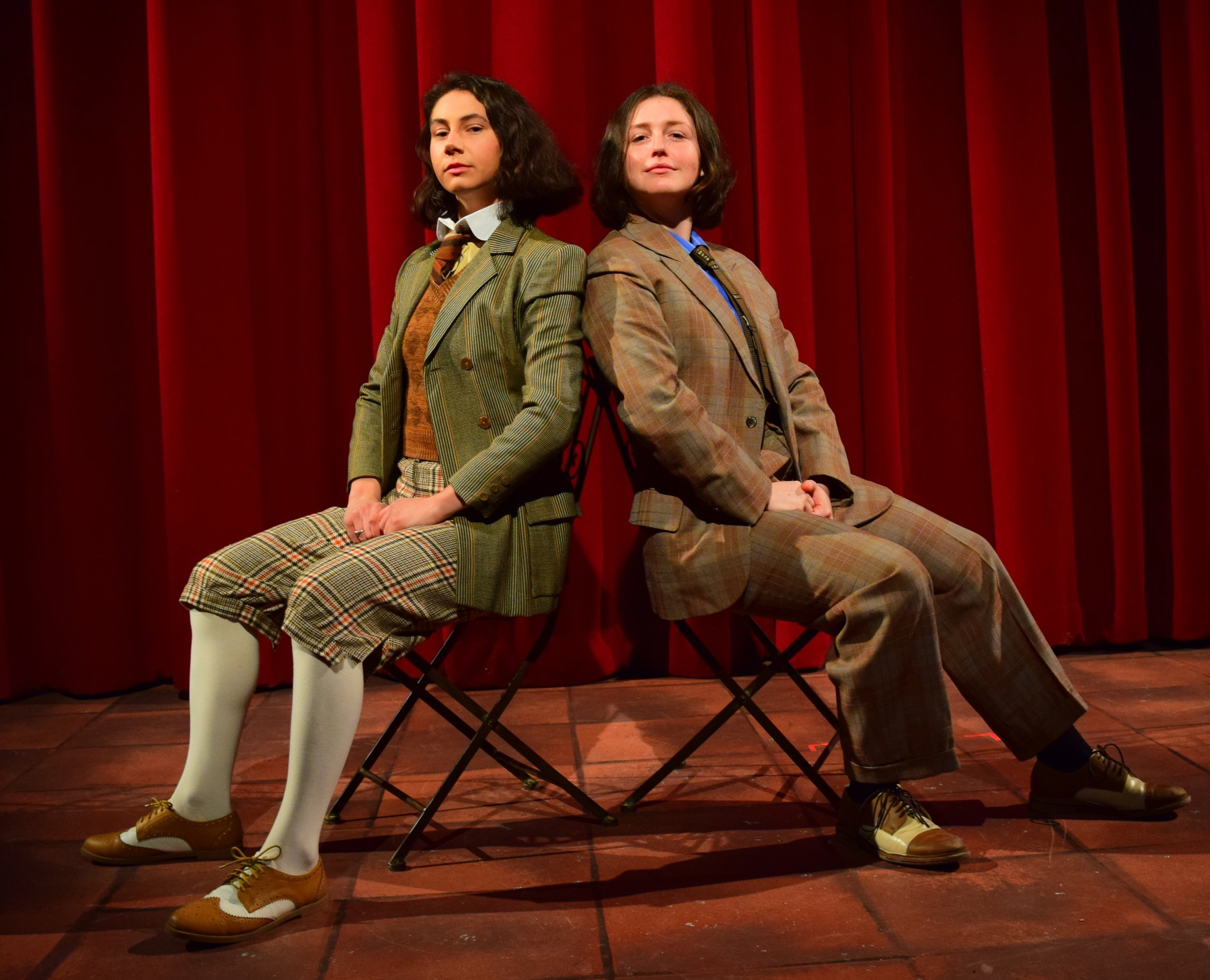"Photo courtesy of Lara Dubin   Dale Leonheart '19 and Martha Kent '21 performed in Oscar Wilde's classic play ""The Importance of Being Earnest"" last weekend."
