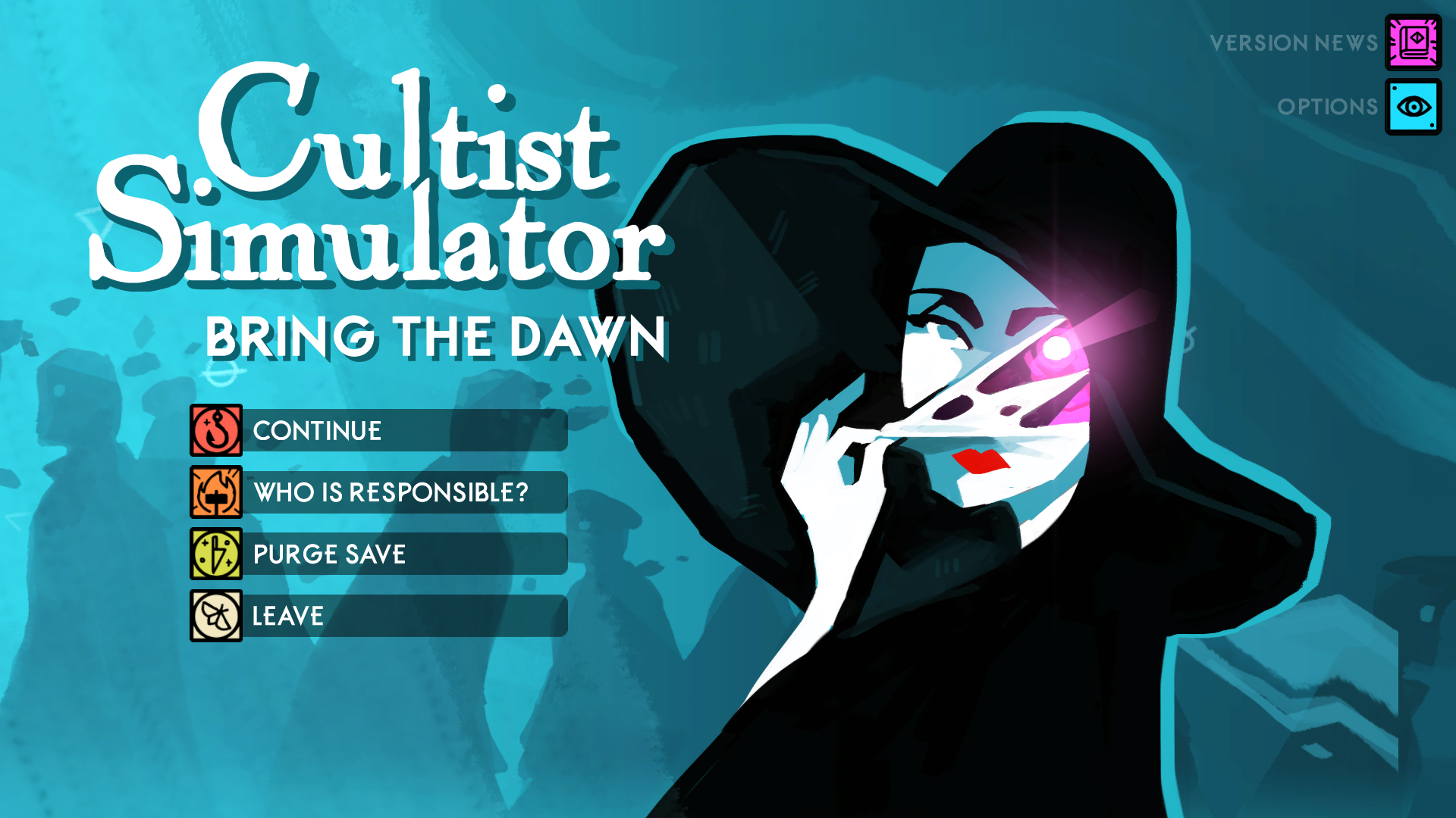 "Photo courtesy of Kiran Penman '19   ""Cultist Simulator"" was nominated for Game Innovation and Debut Game at the 2019 BAFTA Game Awards."