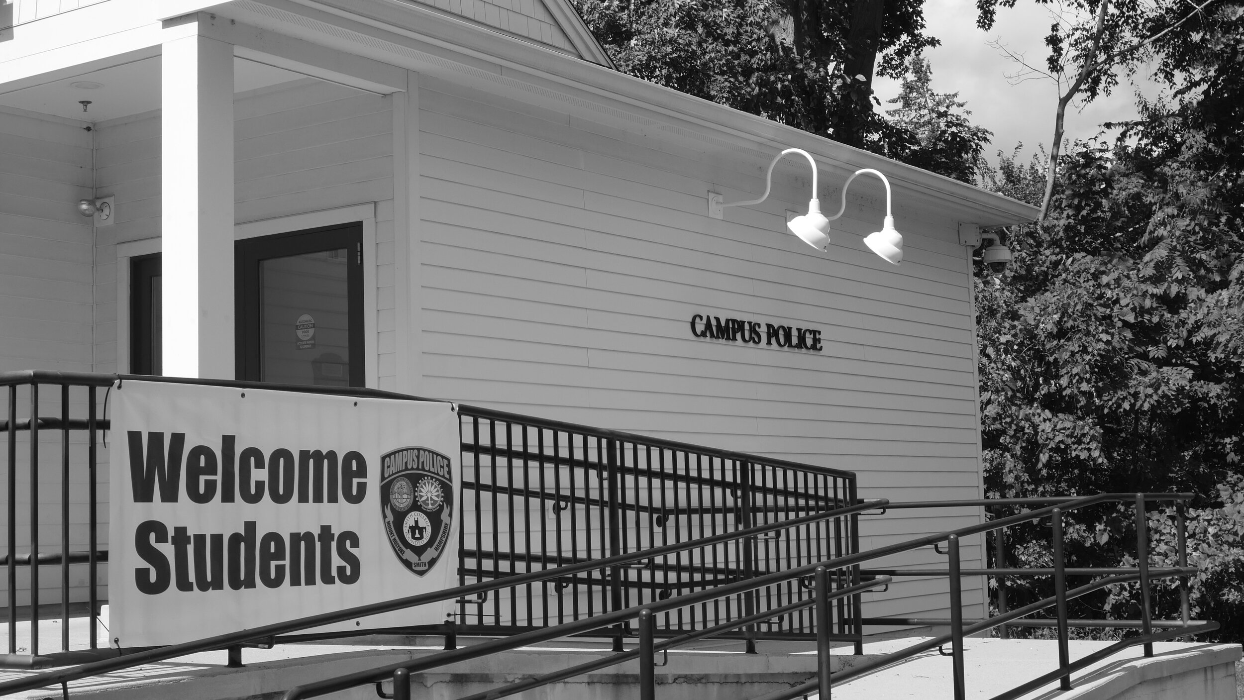 Photo by Trinity Kendrick '21  The Mount Holyoke Campus Police department plans to separate from Smith's by July 2020, moving directly under Mount Holyoke's Division of Student Life.