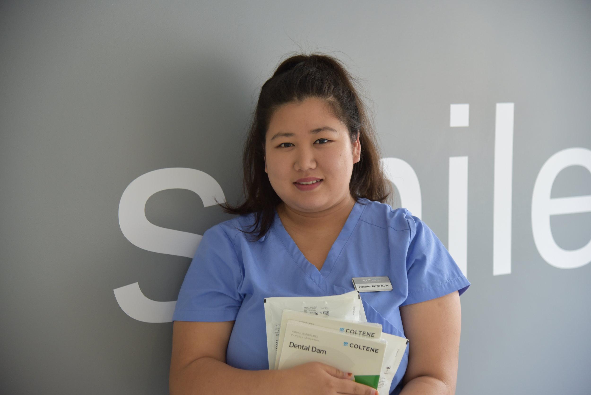 Prasanti - Trainee Dental Nurse