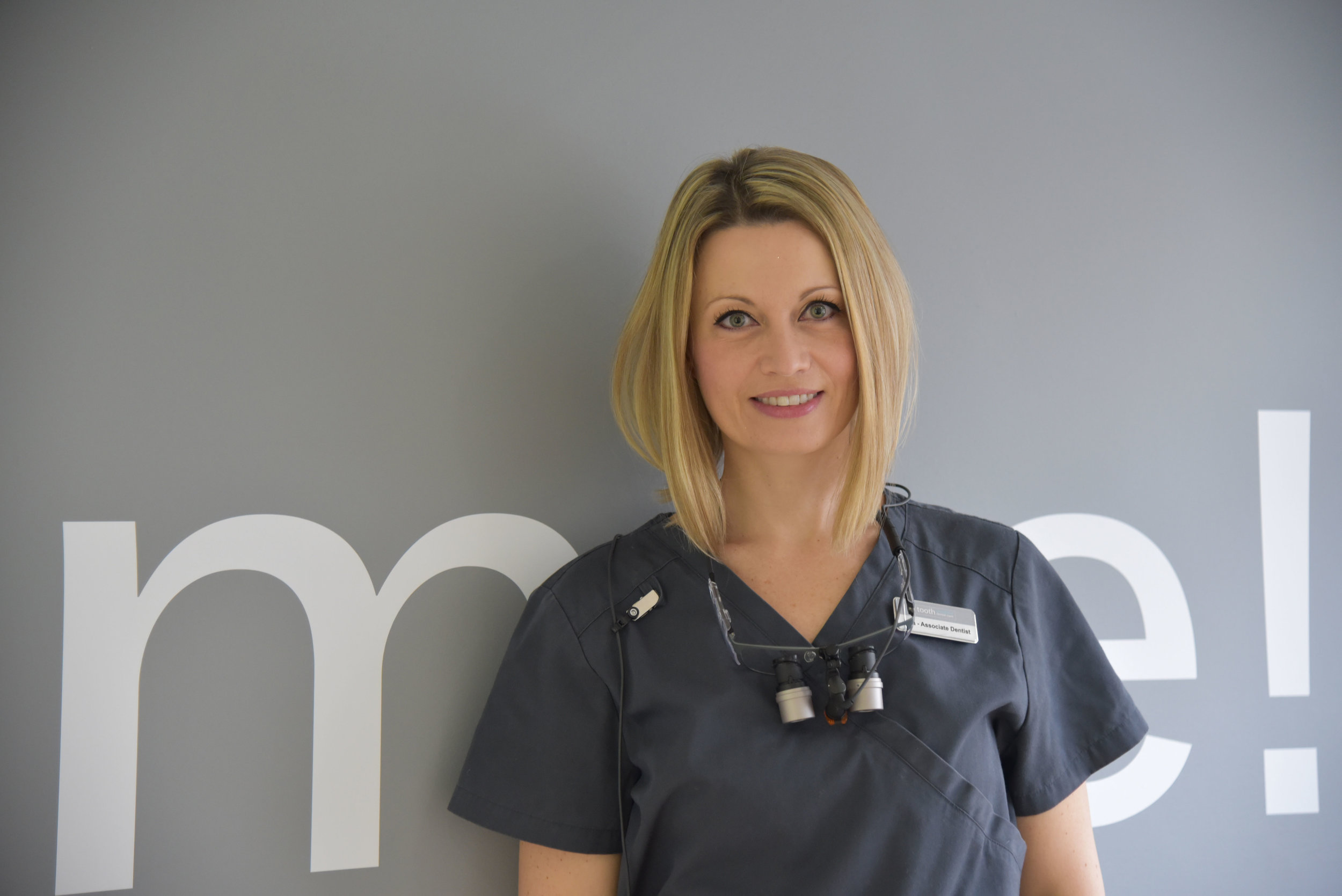 DR. ANA KRSTEVSKA, ASSOCIATE DENTIST, GDC No. 183883   DDM, Skopje; MFDS (RCSE) London; PG Diploma in Clinical Dental Science, Queen Mary's University London; PG Cert in Dental Implants, Bristol.  Dr. Ana is tooth's Associate Dentist with a special interest in Oral Surgery and Implants. She has a wealth of experience across leading private dental surgeries across London as well as extensive hospital experience. Ana also works as a Specialty Doctor in Oral Surgery and as an Honorary Clinical Teacher at King's College Hospital in London. In addition, Dr. Ana is a member of the BAOS (British Association of Oral Surgeons), ITI (International Training in Dental Implants), EAO (European Association of Osseointegration) and ESCD (European Society of Cosmetic Dentistry).