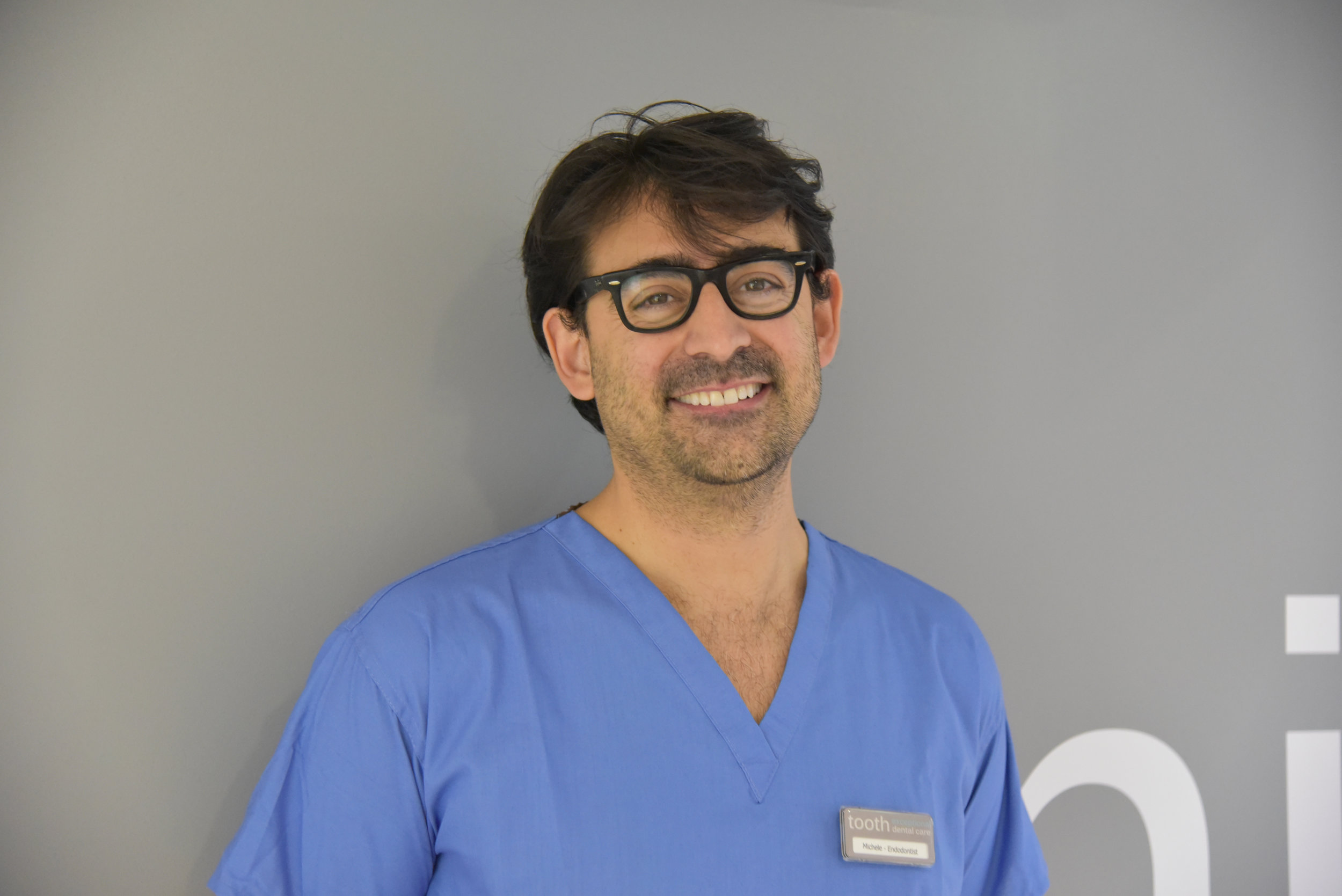 DR. MICHELE RECCHIA, DENTIST WITH A SPECIAL INTEREST IN ENDODONTICS, GDC No. 219155   BDS, University of Verona; MSc Endodontics, University College London (UCL), London;  Dr. Michele has vast experience in dentistry and endodontics (root canal treatment), having worked in dental practices in the UK, Ireland and Italy. As well as working at tooth and other leading private practices solely on endodontics, Michele also works as a Specialty Doctor in Endodontics at Eastman (UCL) Hospital. He is a member of the British Endodontic Society, the Italian Endodontic Society and the European Society of Endodontology. He is expert in microscope dentistry, great with the patients and clinically excellent.