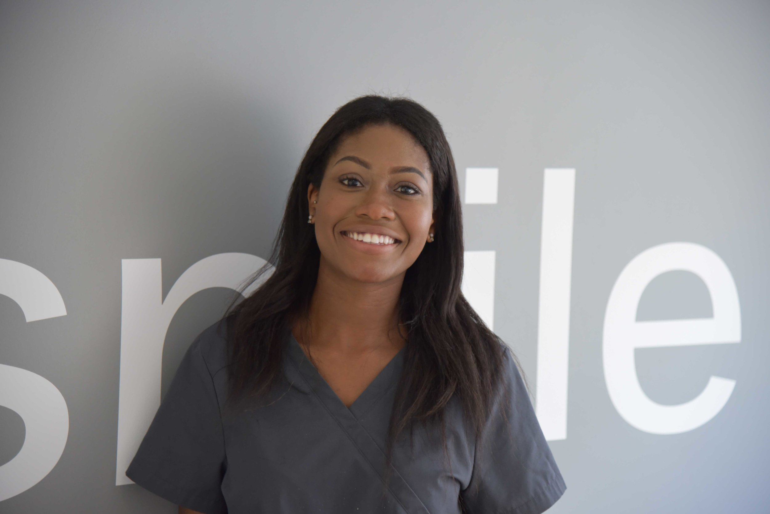 JENNY OTOO, DENTAL HYGIENIST, GDC No. 237683   FDsc Oral Health Science, University of Essex; Nat. Dip in Dental Nursing, NEBDN  Jenny is an experienced Dental Hygienist, having worked in private and mixed practices across the Home Counties before joining us at tooth. Jenny is all about quality, empathetic and partnership-based treatments and cares massively about working with patients to improve and maintain their oral health. Jenny is from London and always had a passion for dentistry. Her dental career started as a trainee nurse, she went on to become a Qualified Dental Nurse and then retrained as a Hygienist, graduating in Oral Health Science to become a Dental Hygienist in 2016.