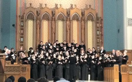 UNCG Choir (Abigail Dowd)