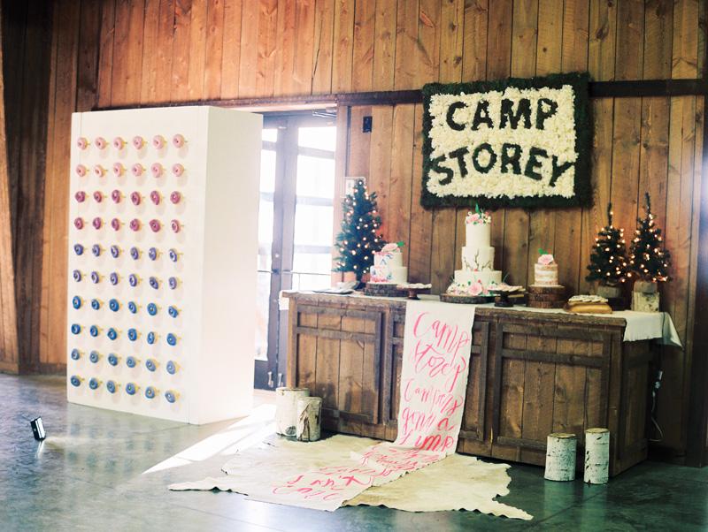 Camp Storey 5th Birthday Party Ashley Nicole Events