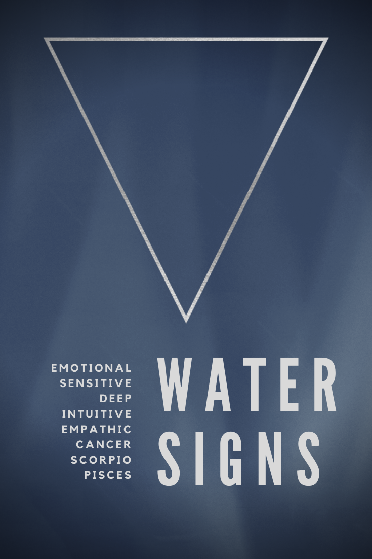 What are the water signs in astrology taurus
