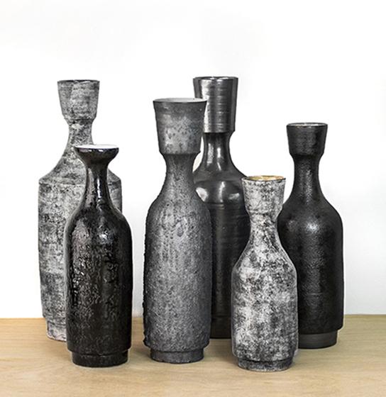 "Stoneware Bottles  range 10""-18"""