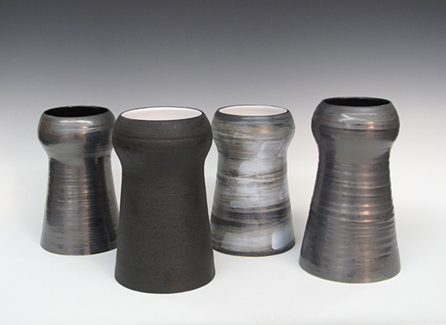 """Stupa Vases  6""""x11"""" approx."""