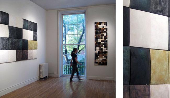 "Traffic Patterns, Jane Hartsook Gallery NYC16' x 4"""