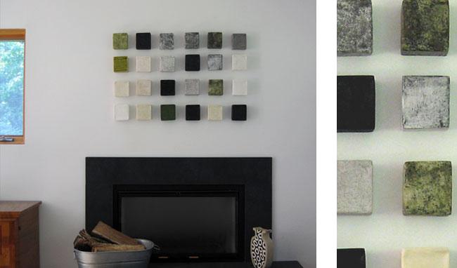 "Moss Installation , 48"" x 30"""