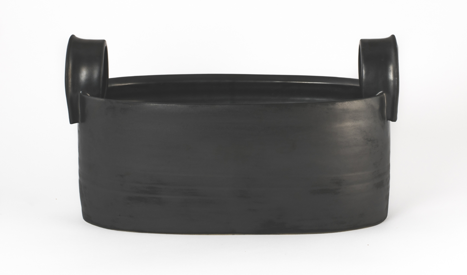 """Oval Vessel with Handles 14""""x7""""x6"""""""