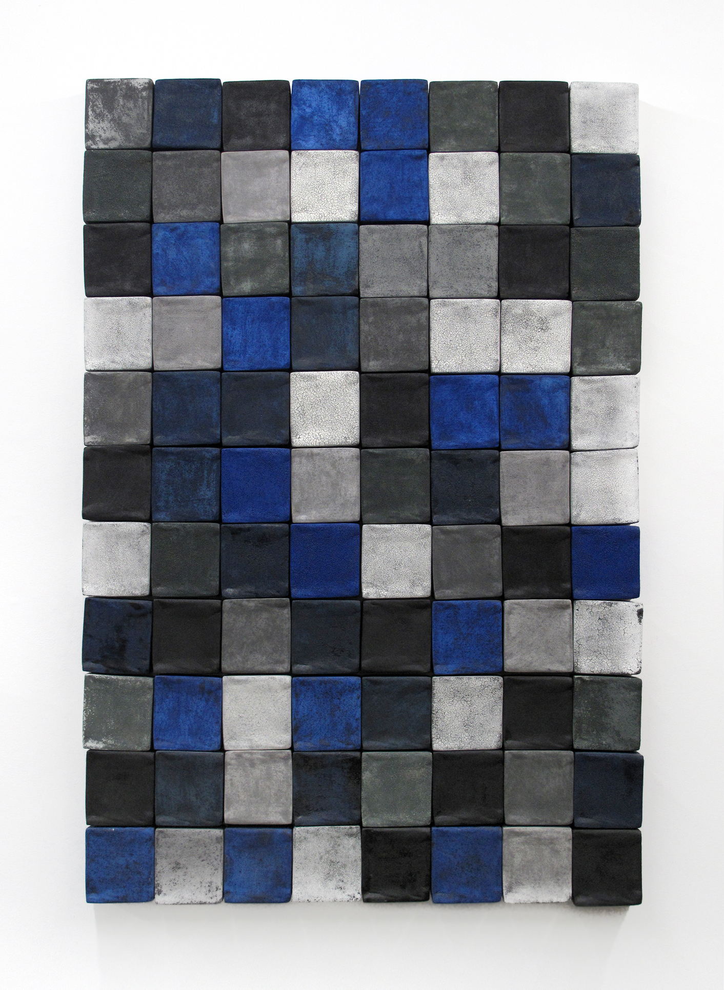 "Blue Scale, 36"" x 48"""