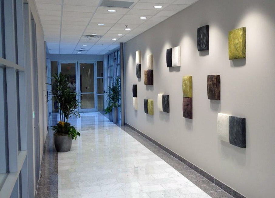 Balance, wall installation, 20' x 5'