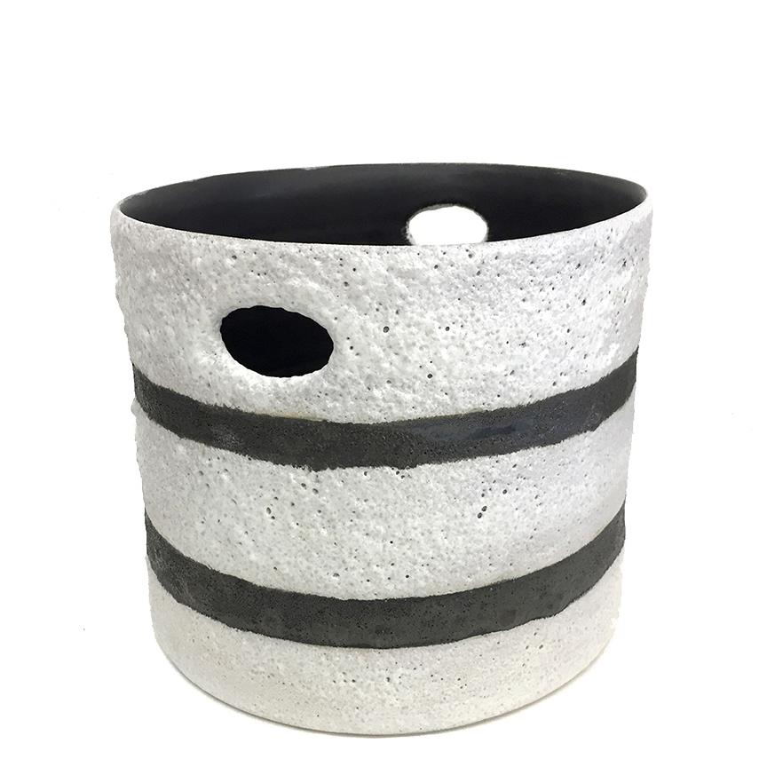 """Foam Bucket Vessel, 9"""" X 10"""" X 8"""""""