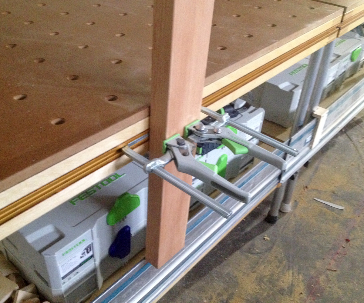 Festool Clamp Integration